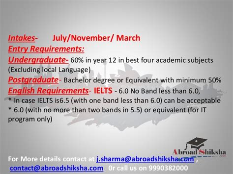 Mba In Australia Requirements by Study In Australia Mba From Australia Engineering From