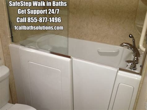 safe step bathtubs safestep walk in baths senior resources