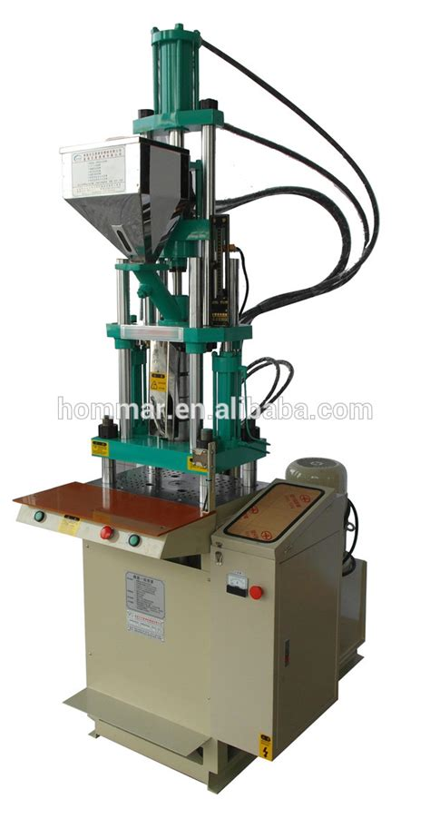 Mesin Injeksi Plastik Mini 45 t slider ganda hydraudilic injeksi vertikal semi otomatis plastik mesin cetak injeksi pvc