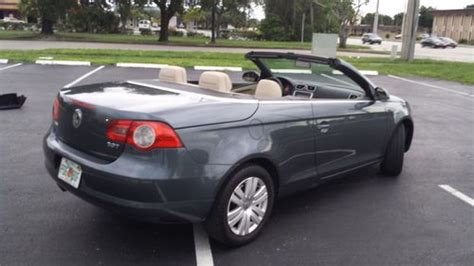 sell used 2008 volkswagen eos 2 0t convertible 2 door 2 0l in southington connecticut united sell used 2008 volkswagen eos 2 0t convertible 2 door 2 0l in fort lauderdale florida united