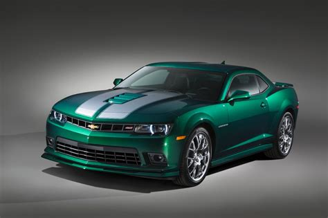 chevrolete camaro 2015 chevrolet camaro green flash special edition sema