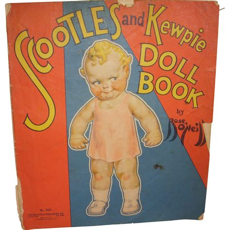 1930s kewpie doll 1930s quot scootles and kewpie doll book quot 300 by