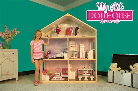 american girl doll houses for sale karen mom of three s craft blog doll houses for the holidays