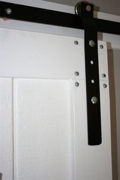 Diy Barn Door Hardware White Diy Barn Door And Hardware For Around 80 Diy Projects