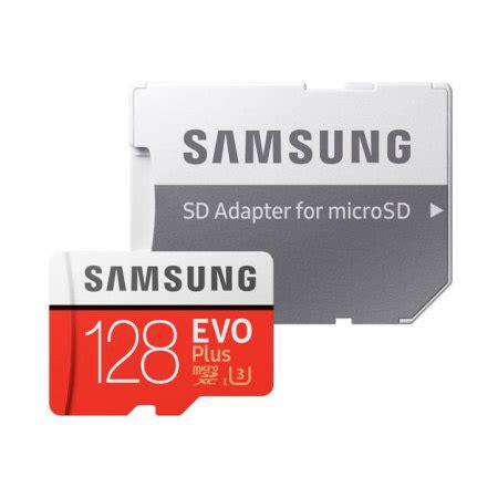 Samsung Memory Card 128gb Microsdxc Evo Plus Class 10 100mb S samsung 128gb microsdxc evo plus memory card w sd adapter class 10