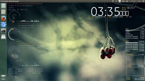 conky manager themes kali linux how to install and use conky manager on ubuntu 16 04 17 04