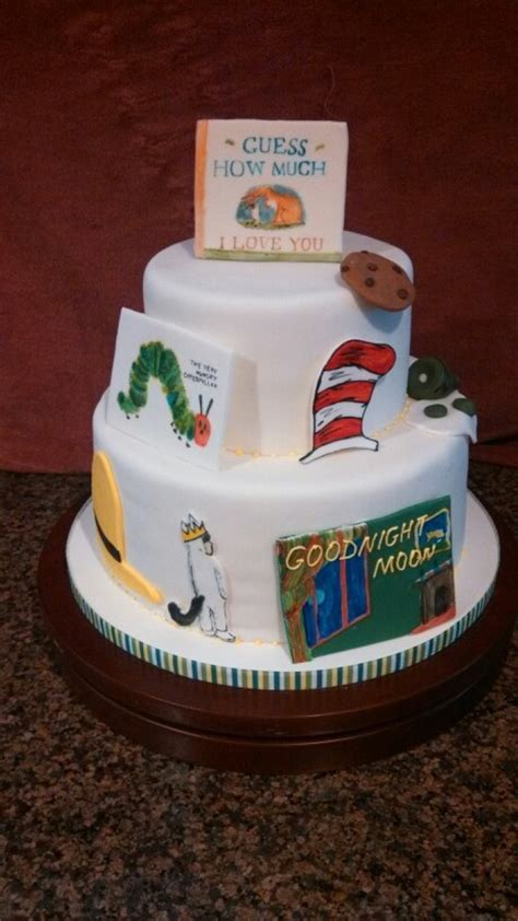 book themed cakes a book theme baby shower cake but with pink foundation