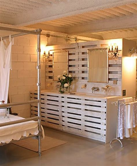 chambre palette bois ordinaire meuble de chambre a coucher en bois 12