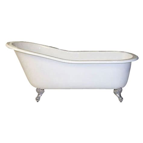 pegasus cast iron and claw slipper tub
