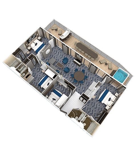 royal caribbean two bedroom suite four bedroom family suite royal caribbean suite class