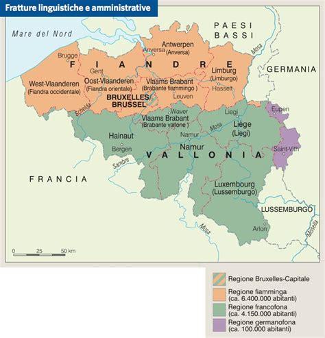 le lingue e il 8815241795 belgio paesi treccani atlante geopolitico