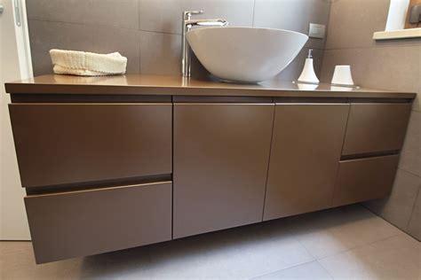 mobili da bagno con lavabo awesome mobile bagno con lavabo appoggio gallery