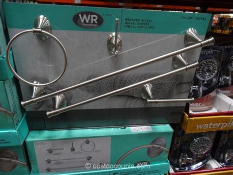 costco bathroom accessories waterridge 5 bath accessories kit
