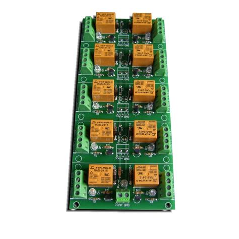 24 channel light board relay card 24v 10 channels for raspberry pi arduino