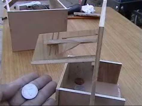 diy coin mechanism for vending machine