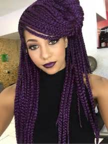 colored braids 25 best ideas about colored box braids on