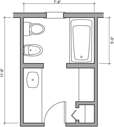 Floor Plans Bathroom by Bathroom Floor Plans Bathroom Floor Plan Design Gallery