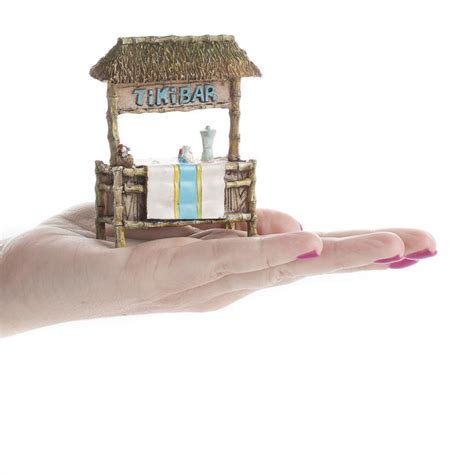 Miniature Tiki Bar Miniature Tiki Bar Dining Room Miniatures Dollhouse