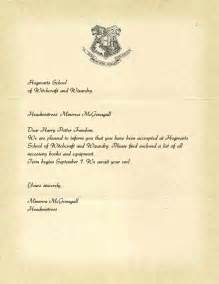 What Does Harry Potter S Acceptance Letter Look Like Hogwarts Acceptance Letter Template Jvwithmenow