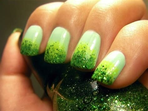 st nails st s day nail ideas 10 green manicures to