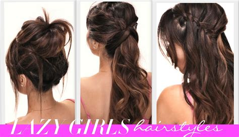hairstyles easy for school hairstyles ideas simple hairstyle for at home ideas girly hairstyle