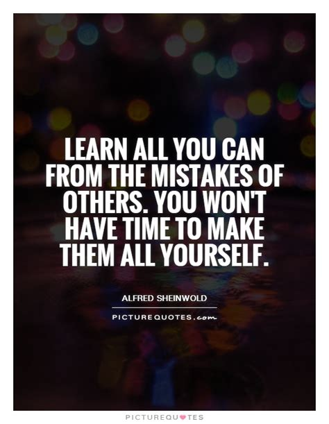 Lessons Learned About Businesses by Business Lessons Learned From Mistakes Quotes Quotesgram