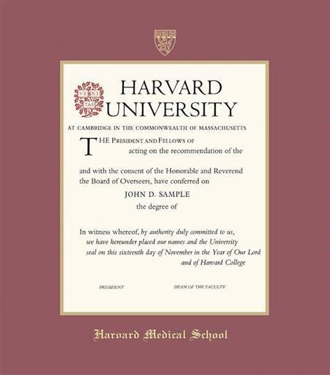 Harvard Extension School Mba Program by Custom Diploma Frames Certificate Frames Framing