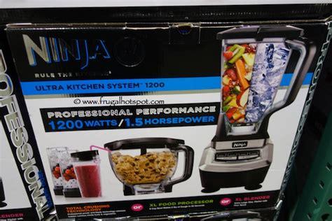 Kitchen System On Sale Costco Sale Ultra Kitchen System 1200 Frugal Hotspot