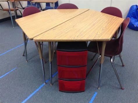 classroom tables for sale edtech trapezoid table desks clean cut