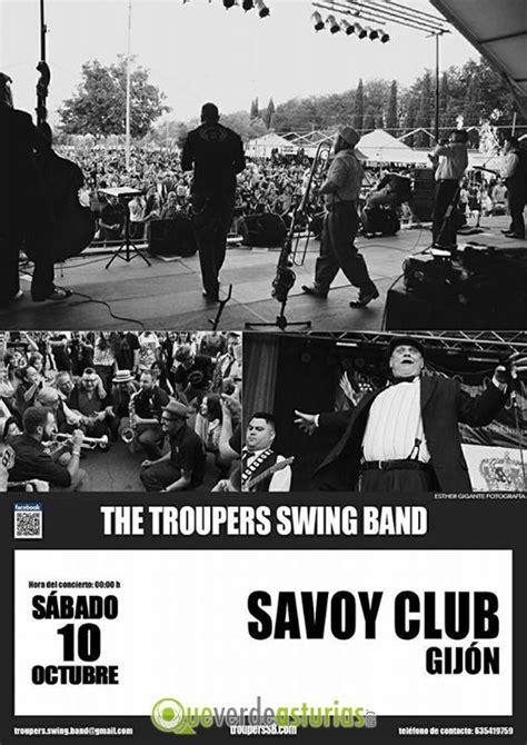 savoy swing club the troupers swing band en savoy club gij 243 n conciertos y