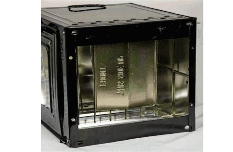Tempered Glass Oren oven with heat tempered glass assembled portable cing oven for kerosene stove 2421 assem