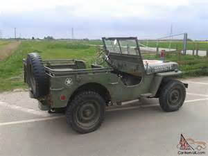1942 Ford Jeep 1942 Ford Gpw Jeep