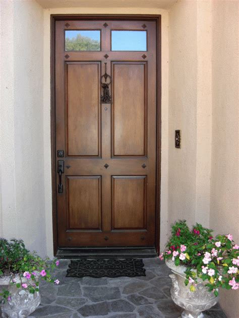 lovely colored front doors