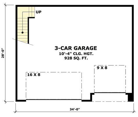 garage floor plans with bonus room rugged garage with bonus room above 14630rk