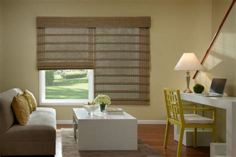 Modern Living Room Blinds Bali Economy Woven Wood Shades From Blinds Modern