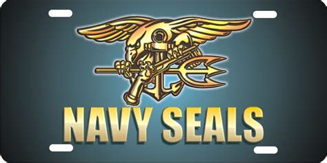 Decorative Front License Plates by Navy Seals Personalized Novelty Front License Plate Decorative