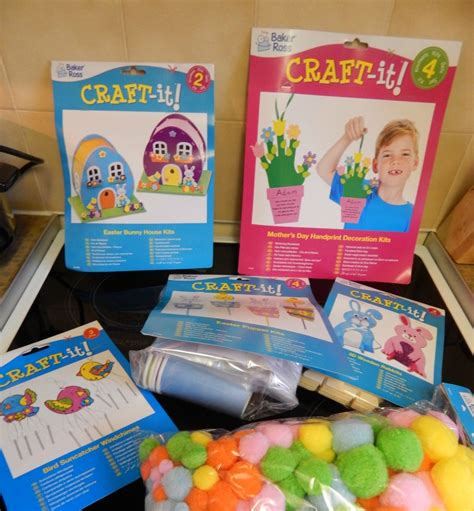 kids craft room with baker ross and mothers day crafts from baker ross 40 and a to one