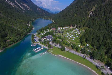 campingplatz seespitz plansee tirol natur erleben