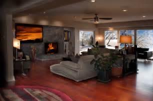 hardwood floor living room hardwood floors modern living room wichita by great american floors decor