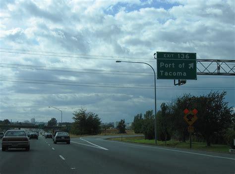 Interstate 5 South - Pierce County - AARoads - Washington I 5 Exit 71 In Washington State