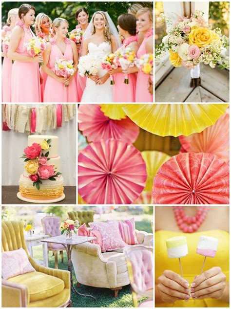 weddings by color pink yellow wedding philippines wedding philippines