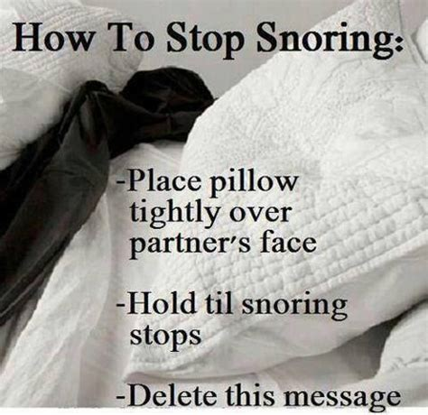 Pillow To Reduce Snoring by How To Stop Snoring Place Pillow Tightly Partner S