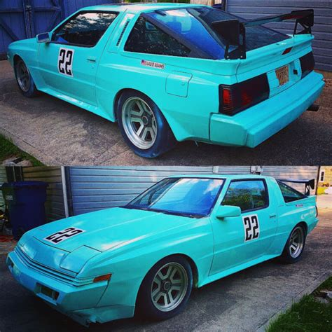 1987 Chrysler Conquest Tsi by 1987 Chrysler Conquest Tsi Scca Track Car For Sale