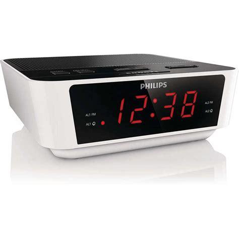 philips fm alarm clock radio big w