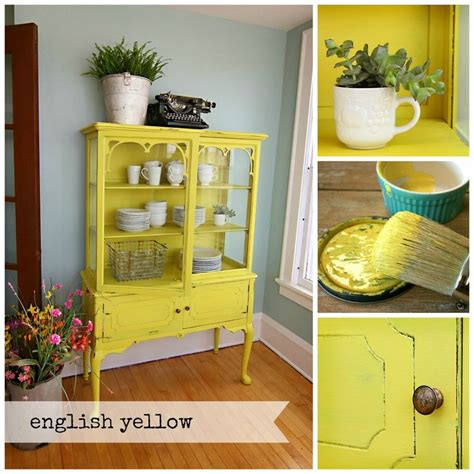 chalkboard paint yellow 1000 ideas about yellow painted furniture on