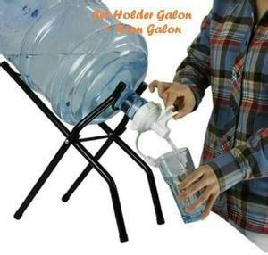 Poluper Kaki Galon Keran Kran Rak Galon Air Praktis harga penyangga kaki rak galon kran dispenser manual
