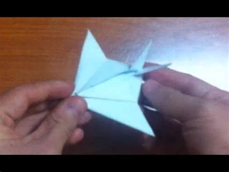 Origami Stealth Fighter - how to make stealth fighter origami