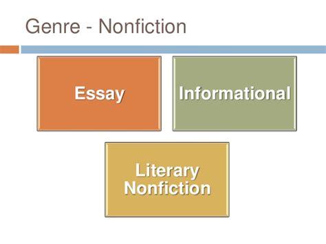 Essay As A Literary Genre by Essay Literature Genre
