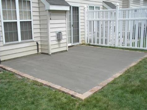 cement designs patio cement designs patio concrete patio with border colored