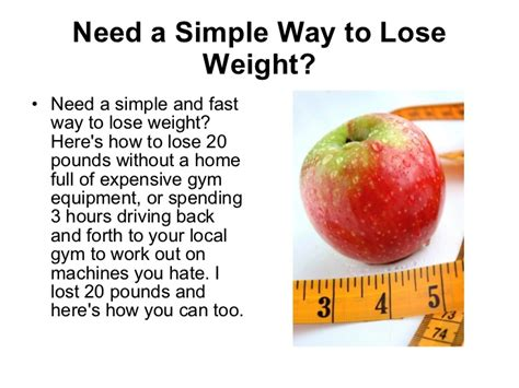 How To Shed Pounds Quickly by Losing Weight 20 Pounds Day Program